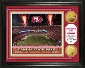 Candlestick Park Final Game Gold Coin Photo Mint