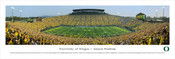 """Oregon vs. Michigan State"" Autzen Stadium Panorama Poster"