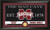 "Mississippi State Bulldogs ""Man Cave"" Photo Mint"