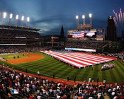 Cleveland Indians at Progressive Field Photo