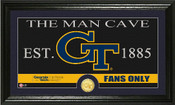 "Georgia Tech Yellow Jackets ""Man Cave"" Photo Mint"