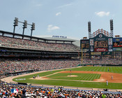 Detroit Tigers at Comerica Park Afternoon Photo