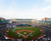 Oakland A's at the O.co Coliseum Opening Day Photo