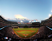 Texas Rangers at Globe Life Park Photo