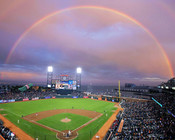 San Francisco Giants at AT&T Park Rainbow Photo