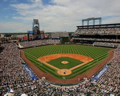 Colorado Rockies at Coors Field Upper Deck Photo