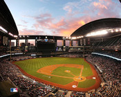 Arizona Diamondbacks at Chase Field Sunset Photo