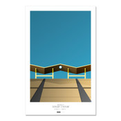 Los Angeles Dodgers - Dodger Stadium Art Poster