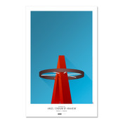 Los Angeles Angels - Angel Stadium Art Poster