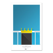 Kansas City Royals - Kauffman Stadium Art Poster