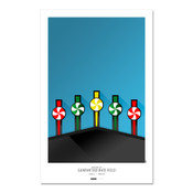Chicago White Sox - Guaranteed Rate Field Art Poster