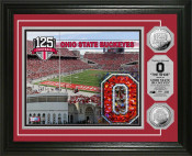 The Ohio State University 125th Anniversary Silver Photo Mint