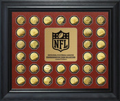 National Football League Commemorative Gold Coin Collection