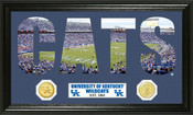 "Kentucky Wildcats ""Word Art"" Panoramic Photo Mint"