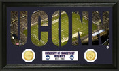 "Uconn Huskies ""Word Art"" Panoramic Photo Mint"