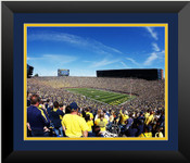 Michigan Wolverines at Michigan Stadium Poster