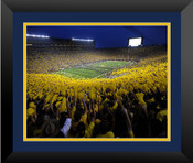 Michigan vs. Notre Dame at Michigan Stadium Poster