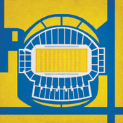 San Jose Spartans - Spartan Stadium City Print