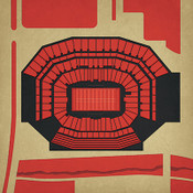 Levi's Stadium - San Francisco 49ers City Print
