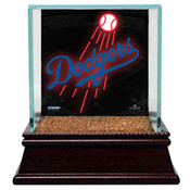Los Angeles Dodgers Baseball Case w/Game Used Infield Dirt