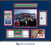 Wrigley Field 100th Anniversary Game Ticket Frame