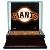 San Francisco Giants Baseball Case w/Game Used Infield Dirt