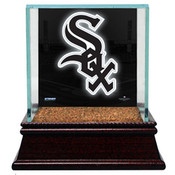 Chicago White Sox Single Baseball Case w/Game Used Infield Dirt