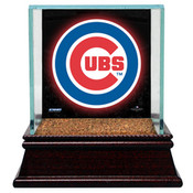 Chicago Cubs Single Baseball Case w/Game Used Infield Dirt