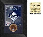 Tampa Bay Rays Infield Dirt Coin Mini Mint
