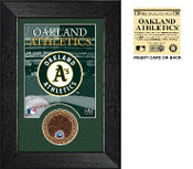 Oakland A's Infield Dirt Coin Mini Mint