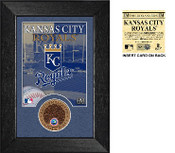 Kansas City Royals Infield Dirt Coin Mini Mint