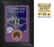 Colorado Rockies Infield Dirt Coin Mini Mint
