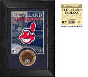 Cleveland Indians Infield Dirt Coin Mini Mint