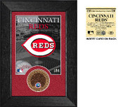 Cincinnati Reds Infield Dirt Coin Mini Mint