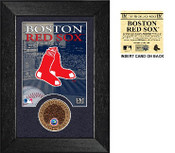 Boston Red Sox Dirt Coin Mini Mint