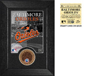 Baltimore Orioles Dirt Coin Mini Mint