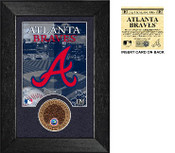 Atlanta Braves Dirt Coin Mini Mint