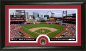 St. Louis Cardinals Infield Dirt Panoramic Photo Mint