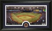 Tampa Bay Rays Infield Dirt Panoramic Photo Mint