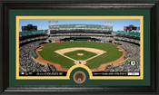 Oakland A's Infield Dirt Panoramic Photo Mint