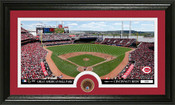 Cincinnati Reds Infield Dirt Panoramic Photo Mint