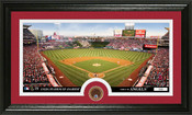 Los Angeles Angels Infield Dirt Panoramic Photo Mint