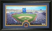 Kansas City Royals Infield Dirt Panoramic Photo Mint
