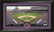 Colorado Rockies Infield Dirt Panoramic Photo Mint