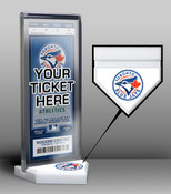 Toronto Blue Jays Home Plate Ticket Display Stand