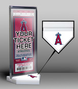 Los Angeles Angles Home Plate Ticket Display Stand