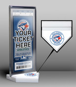 Toronto Blue Jays My First Game Ticket Display Stand