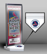 St. Louis Cardinals My First Game Ticket Display Stand