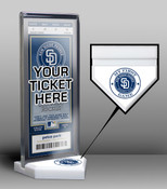 San Diego Padres My First Game Ticket Display Stand