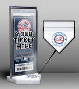New York Yankees My First Game Ticket Display Stand